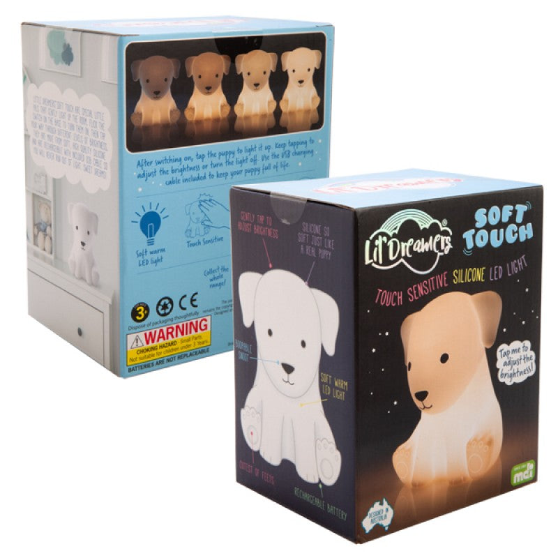 Lil Dreamers - Dog Soft Touch Sensitive Silicone LED Light