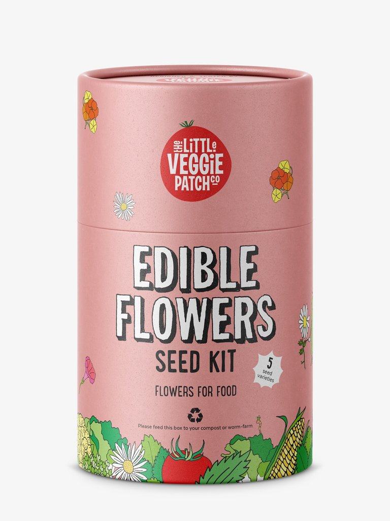 The Little Veggie Patch Co - Edible Flowers seed kit - Spotty Dot