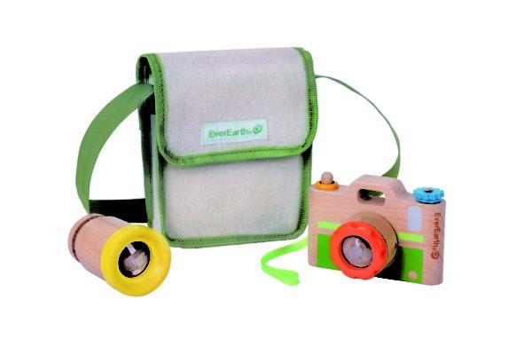 EverEarth Camera Wooden Toy Spotty Dot