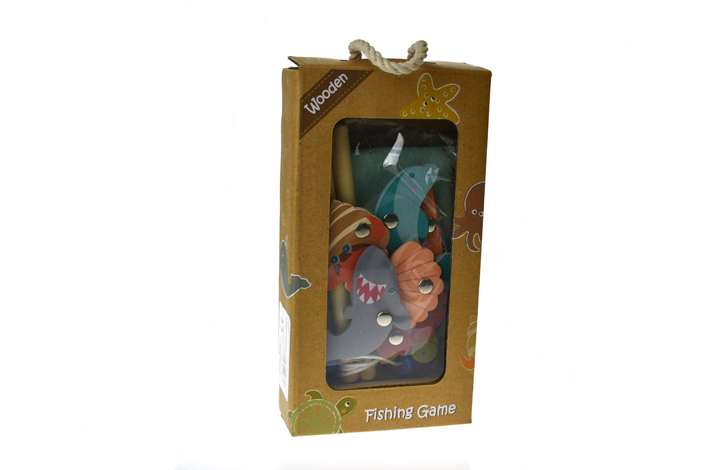 Wooden Fishing Game - Age 2+