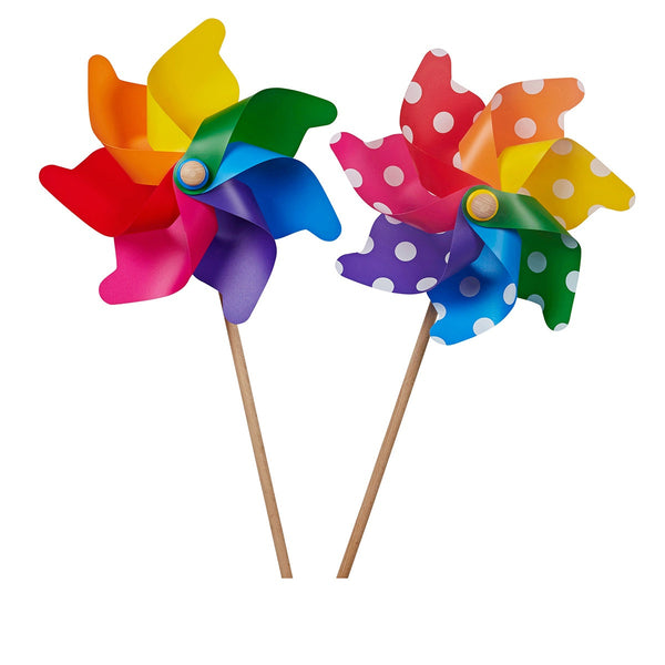 Grande - UV stabilised outdoor Garden Windmill / Pinwheel