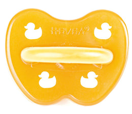 Hevea - Classic Pacifier - Duck - Symetrical Teat