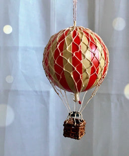 Red Hot Air Balloon  by spotty dot.com.au