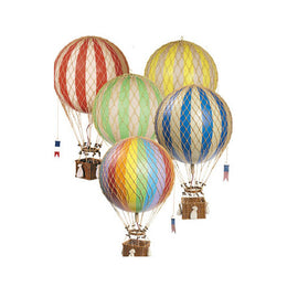 Yellow Hot Air Balloon AM Decoration