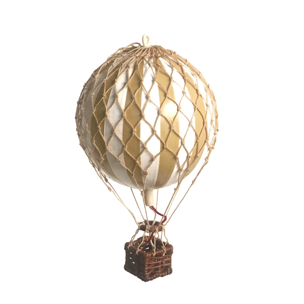 Ivory - Hot Air Balloon - Small, Medium, Large