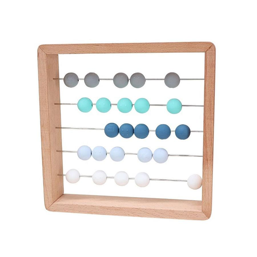 Jellystone Abacus Ocean Silicon Spotty Dot