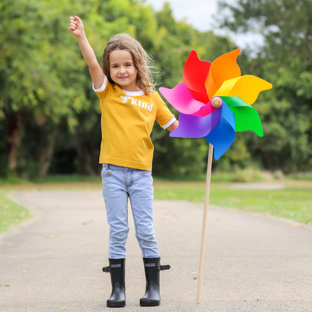 Jumbo Windmill Pinwheel by Whirly www.whirly.com.au @everydaywithus_