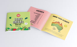 The Little Veggie Patch Co - Leafy Greens Seed Kit - www.spottydot.com.au