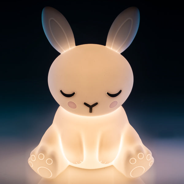 Lil Dreamers - Bunny Soft Touch Sensitive Silicone LED Light
