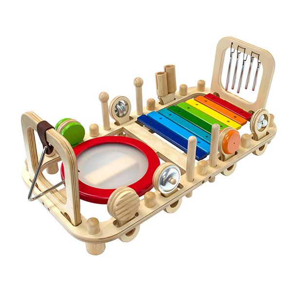 I'm Toy Melody Mix Rainbow Wooden Musical 18M+ www.spottydot.com.au