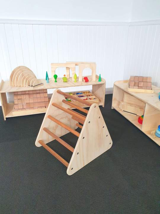 The Wooden Toy Co - Pikler Small