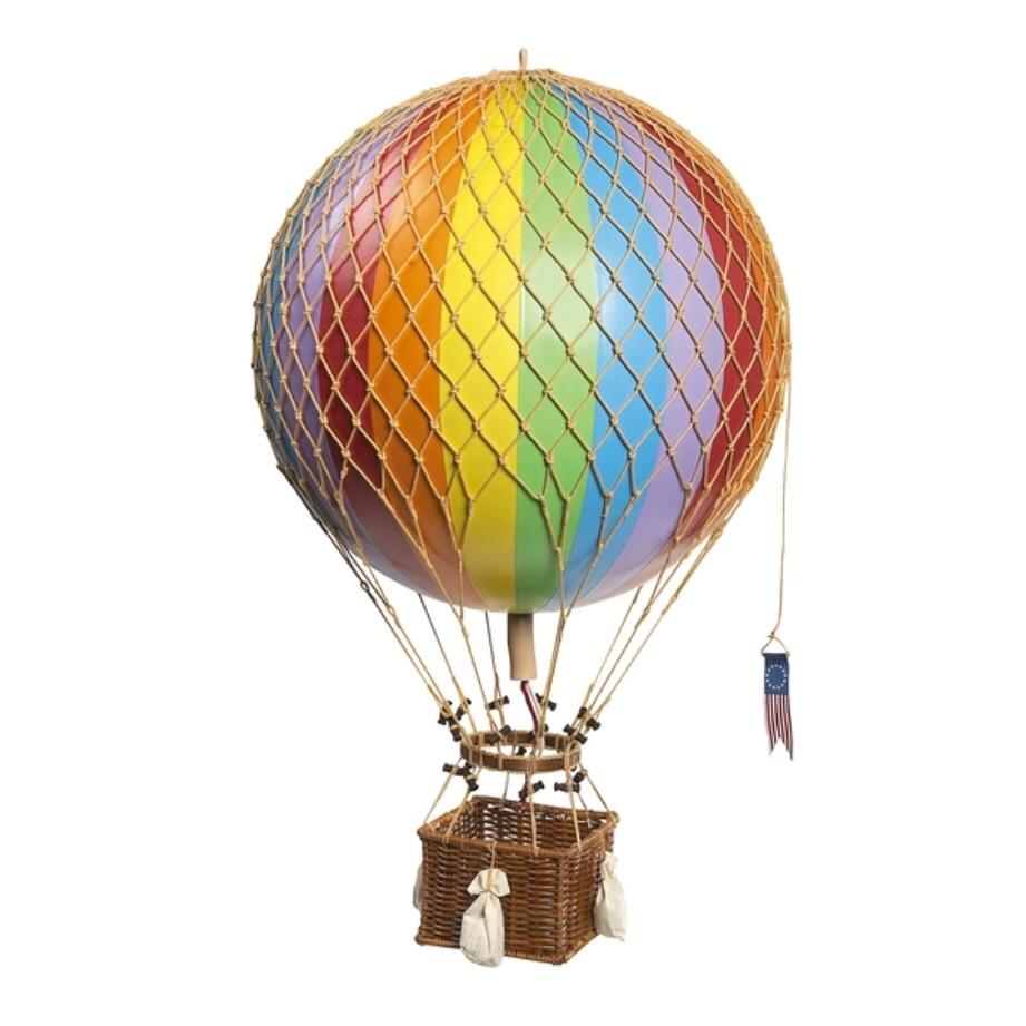 Rainbow - Hot Air Balloon - Small, Medium, Large