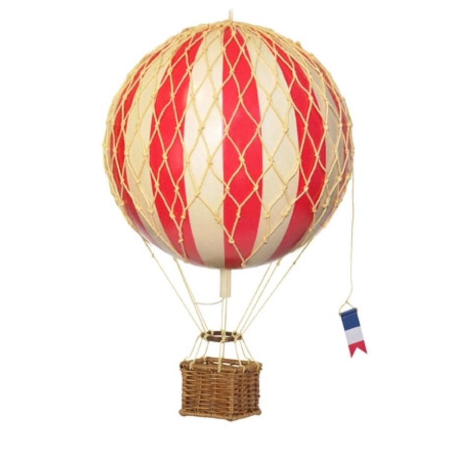 Red - Hot Air Balloon - Small, Medium, Large