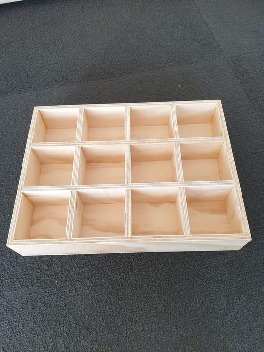 The Wooden Toy Co - Sorting Tray