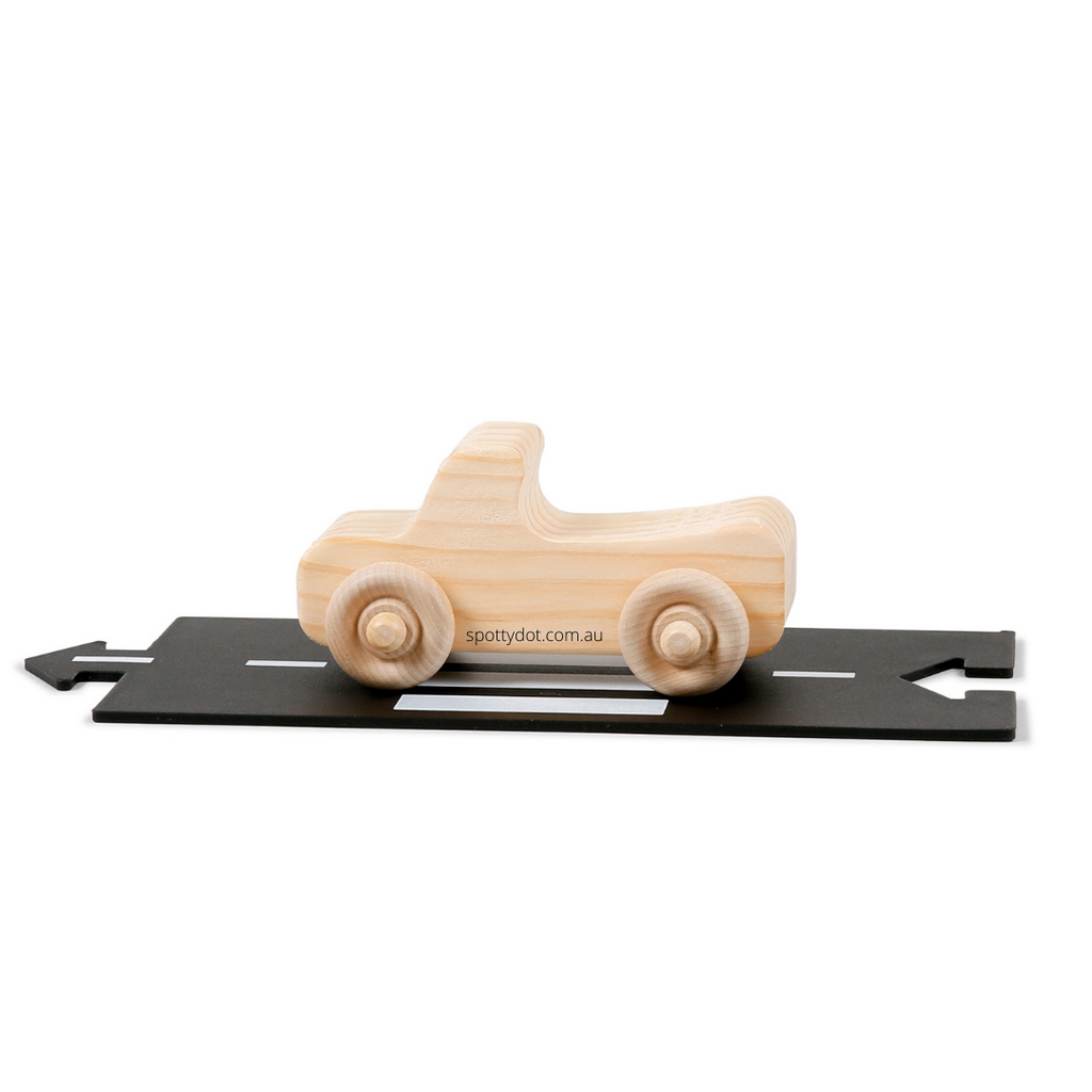 The Wooden Toy Co - Convertible Car www.spottydot.com.au
