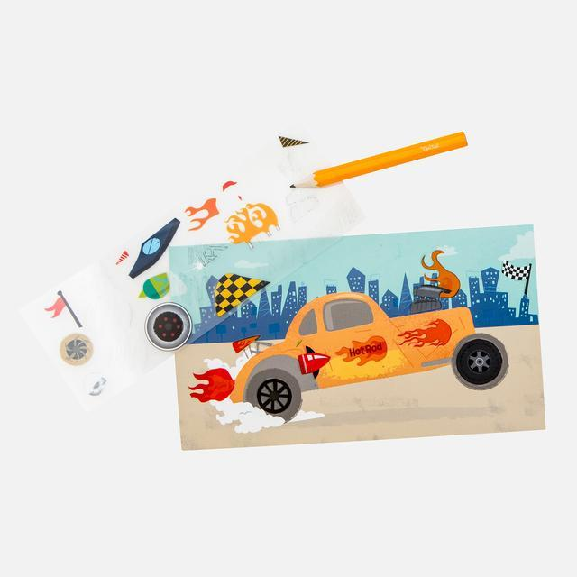 Tiger Tribe - Transfer Magic - Create A Car- Age 3+