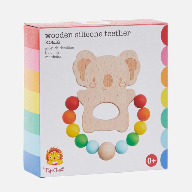 Tiger Tribe - Koala Wooden Silicone Teether - Age 0+