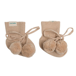 Kute Cuddles - Organic Knit Bootie - August