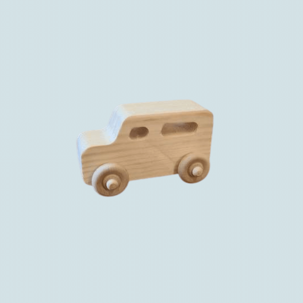 The Wooden Toy Co- Wooden Van