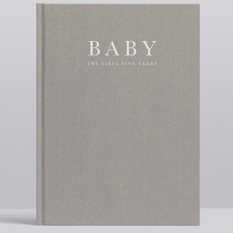 Write To Me - Baby - The First Five Years- Grey