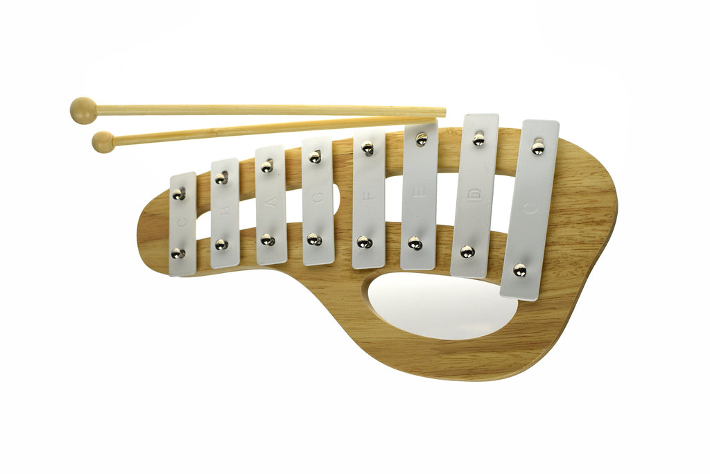 Classic Calm Xylophone White - Spotty Dot