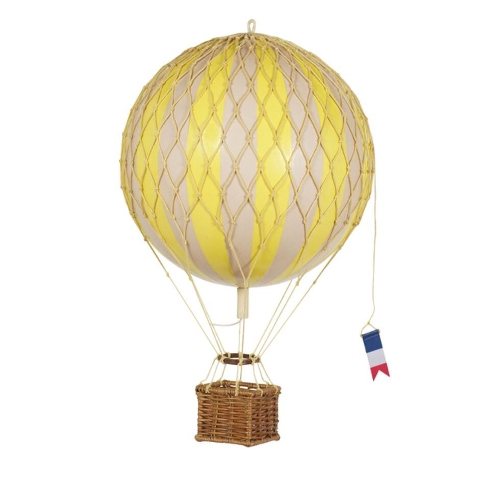 Yellow - Hot Air Balloon - Small, Medium, Large