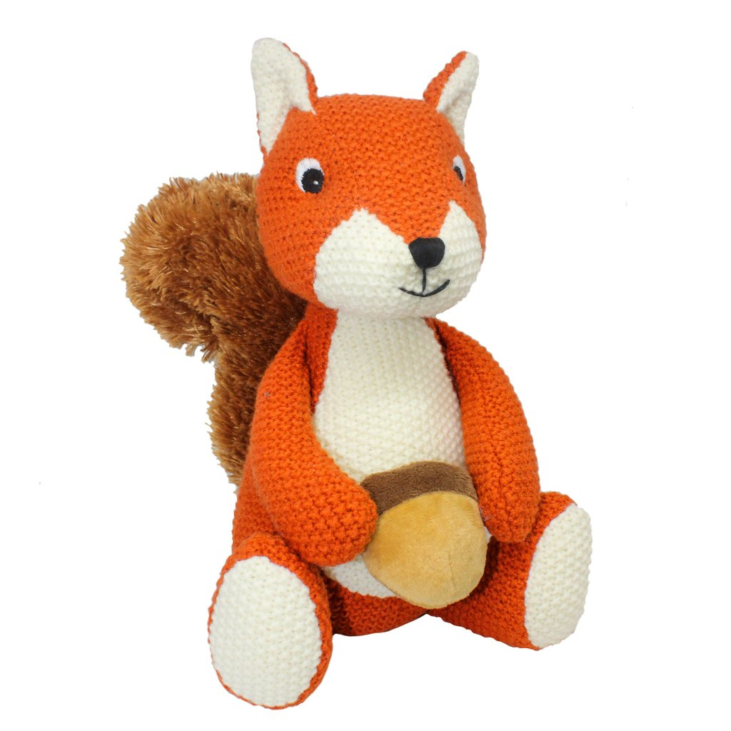 Sid Squirrel Knitted with Nut LG687
