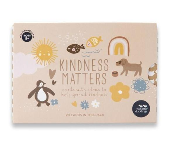 Two Little Ducklings - Kindness Matters - Flash Cards