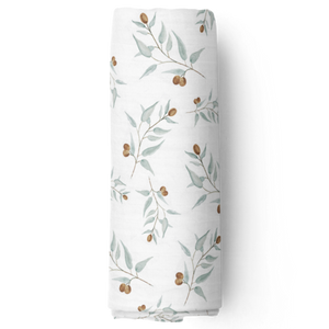 Bamboo Muslin Swaddle Blanket - Ray | Piper Bug