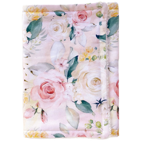 Clementine Floral Burp Cloth - Little Bambino Bear