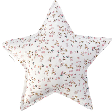 Daisy Floral Star Cushion | Little Bambino Bear