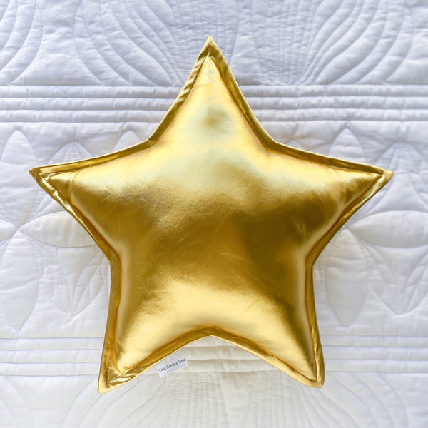 Gold Star Cushion - Little Bambino Bear
