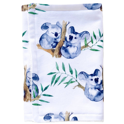 Koala Burp Cloth - Little Bambino Bear