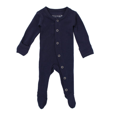 L'ovedbaby Footie Navy - Little Bambino Bear