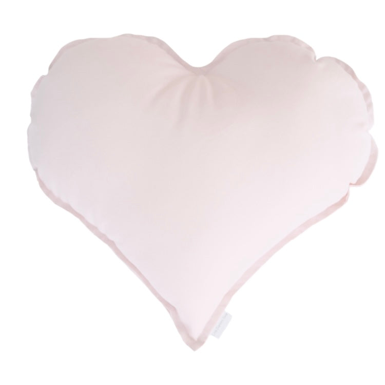 Light Pink Heart Cushion | Little Bambino Bear