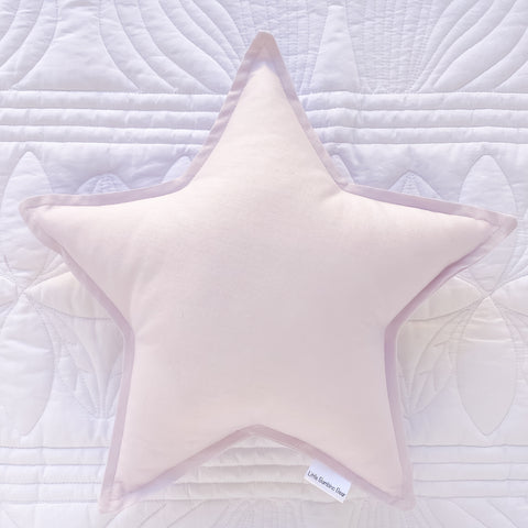Light Lavender star Cushion | Little Bambino Bear