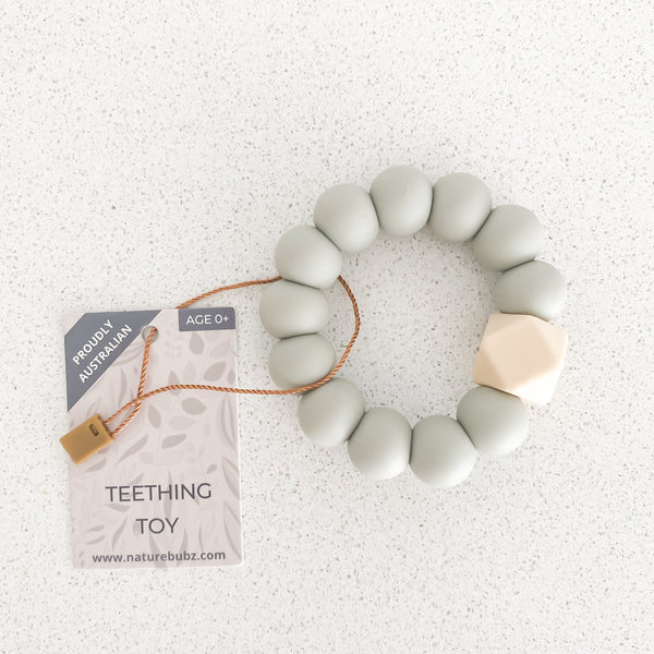BASICS Teething Toys - Pale Eucalypt