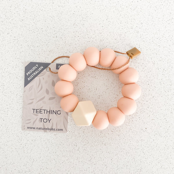 BASICS Teething Toys - Peach