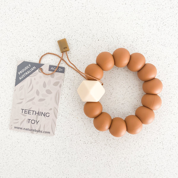 BASICS Teething Toys - Terracotta