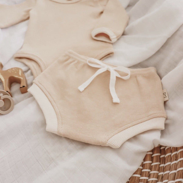 Beige retro bloomers