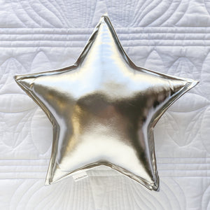Silver Star Cushion - Little Bambino Bear