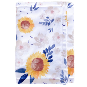 Sunflower Burp Cloth - Little Bambino Bear