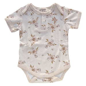 Vintage Floral Romper - Piper Bug - Little Bambino Bear