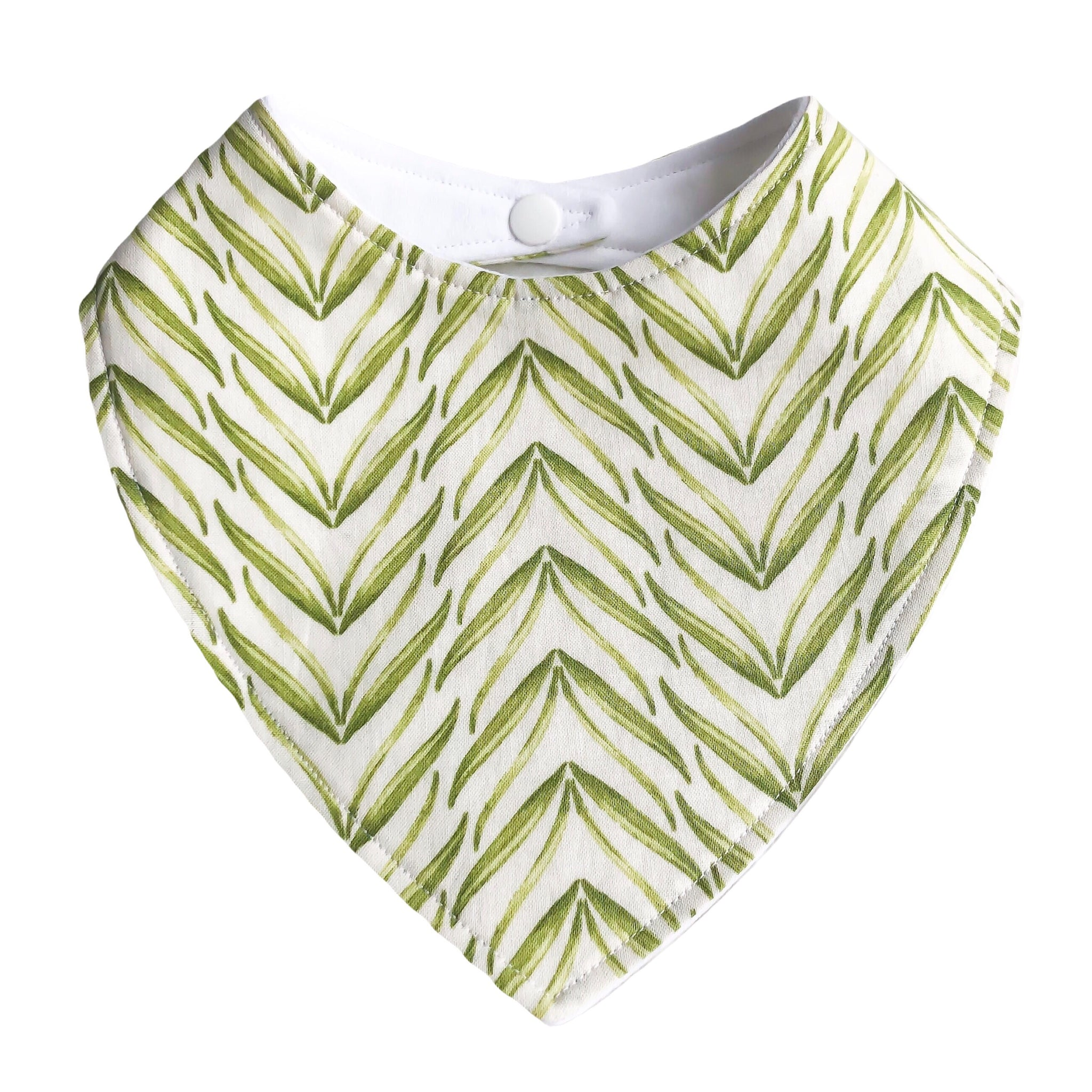 Baby Bib - Leaves - Little Bambino Bear