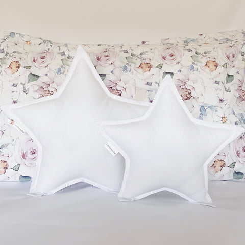 White Star Cushion - Little Bambino Bear