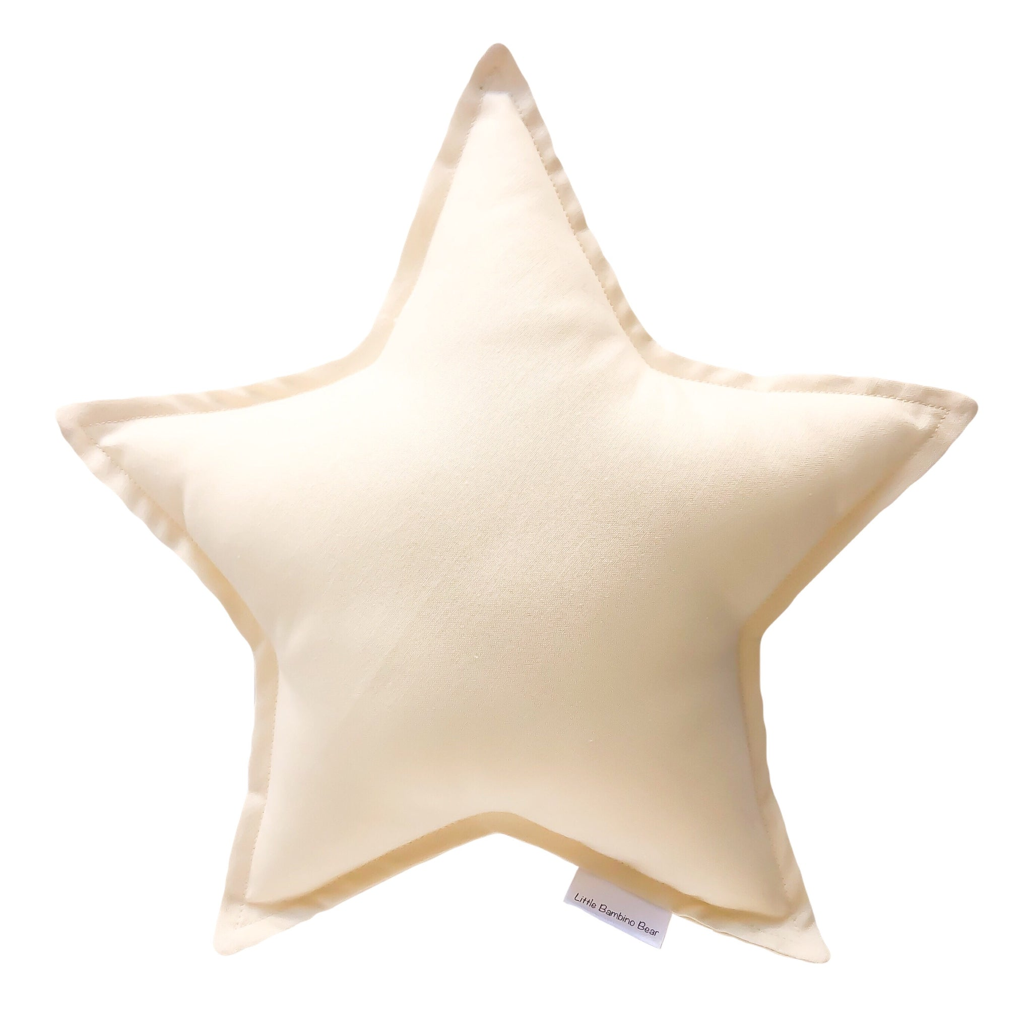 Little Bambino Bear - Lemon Star Cushion