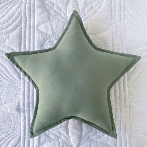 Sage Star Cushion - Little Bambino Bear