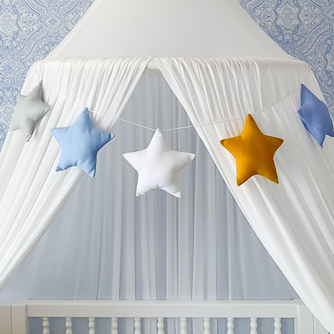 Little Bambino Bear Star Garland - Made to Order
