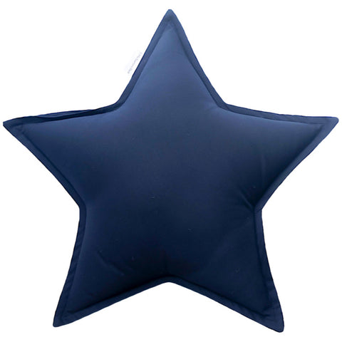 Navy Star Cushion | Little Bambino Bear