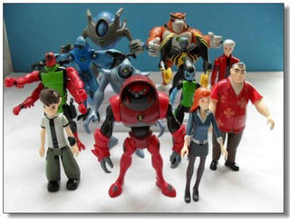 Ben 10 Action Figures - Deals Blast